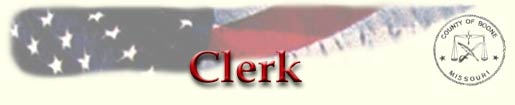Boone County Clerk title graphic