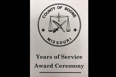 Boone County Recognizes 12 Employees for Milestones Over 20 Years of Service