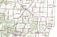 Boone County Quick Reference Road map