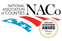 National Association of Counties 2014 Achievement Award logo