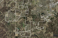 Boone County Orthophoto imagery map