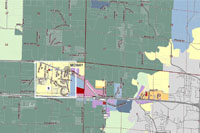 Boone County Zoning map